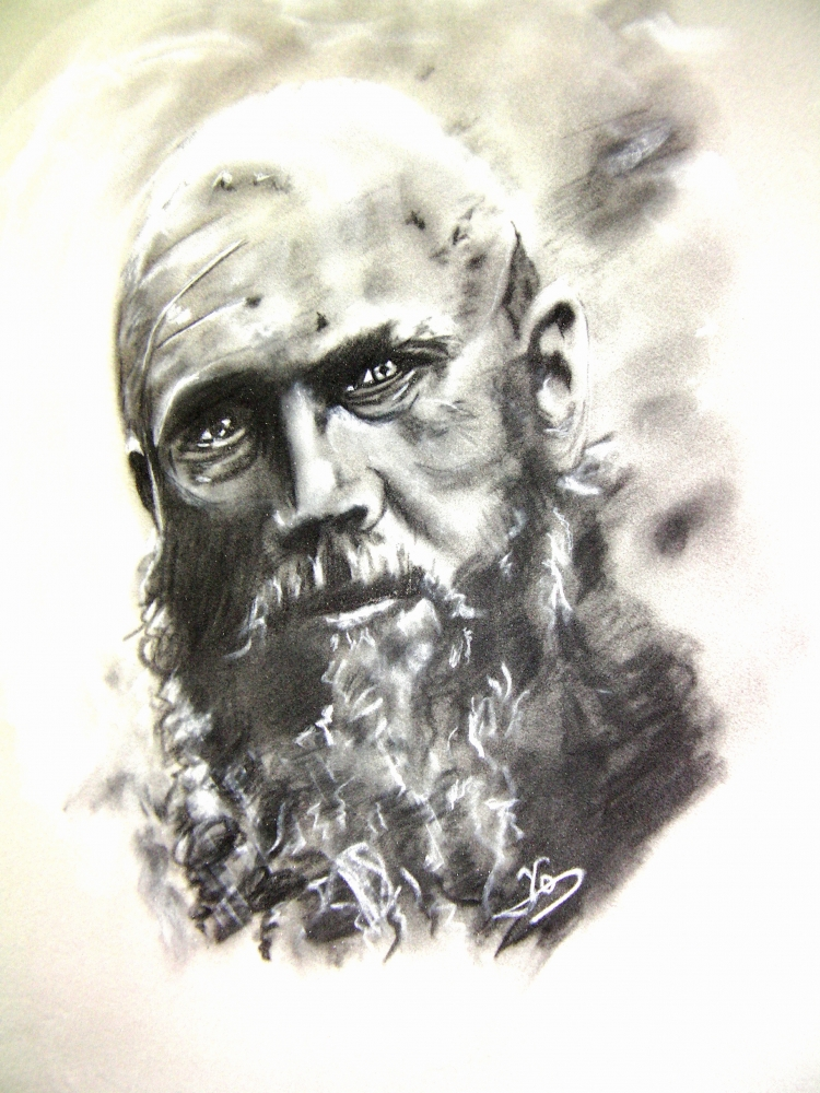 Ragnar Lodbrok por Dyandra